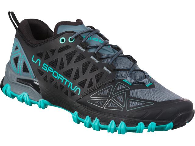 La Sportiva Bushido II Chaussures de trail Femme, slate/aqua